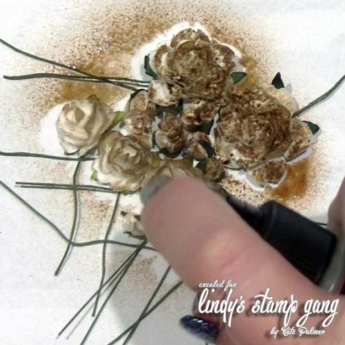 Grunge Flowers 2