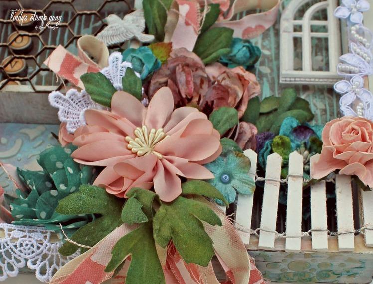 Love Tray Flower Closeup
