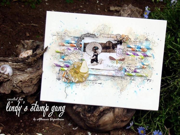 athanasia Papantoniou Lindy's Stamp Gang May color challenge 1