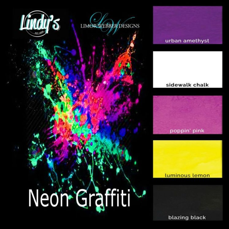 Lindys Neon Graffiti collection