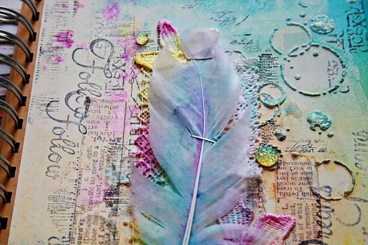 marta art journal dropdeadiva magicals sprays 5