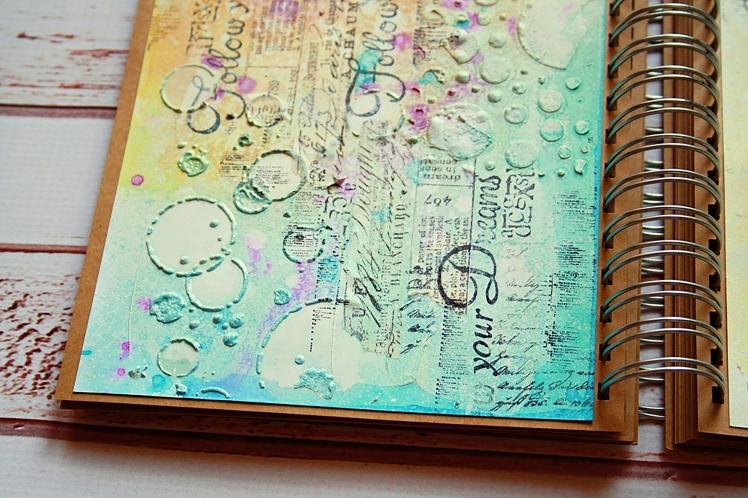 marta art journal dropdeadiva magicals sprays1