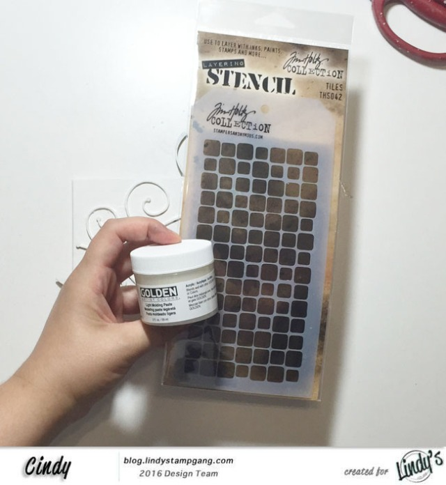 image stencil et paste