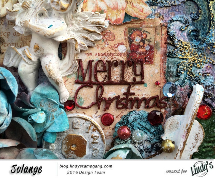 Christmas Canvas by Solange Marques using Lindy's Stamp Gang products-05