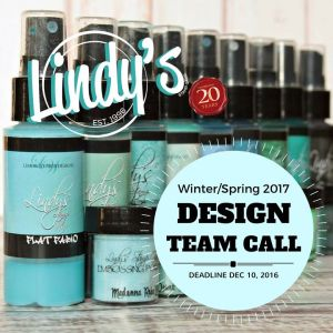 Lindy's 2017 Design Team Call