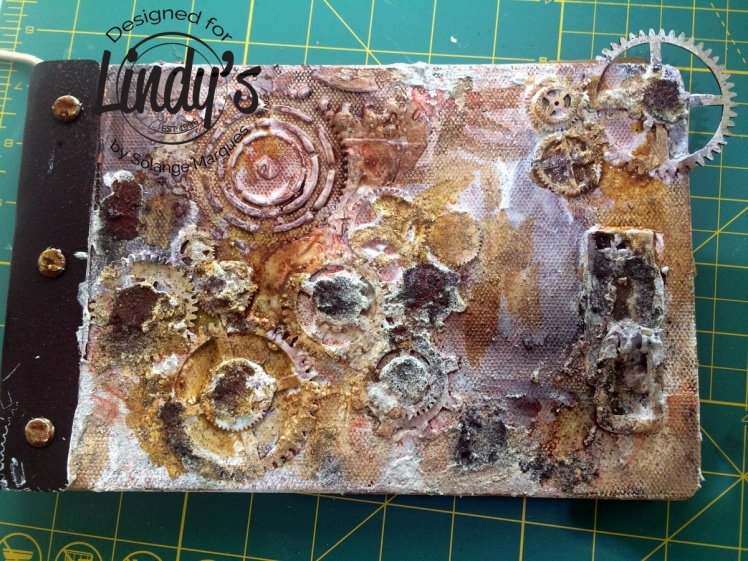 Rust album by Solange Marques with Lindy's Stamp Gang products-03
