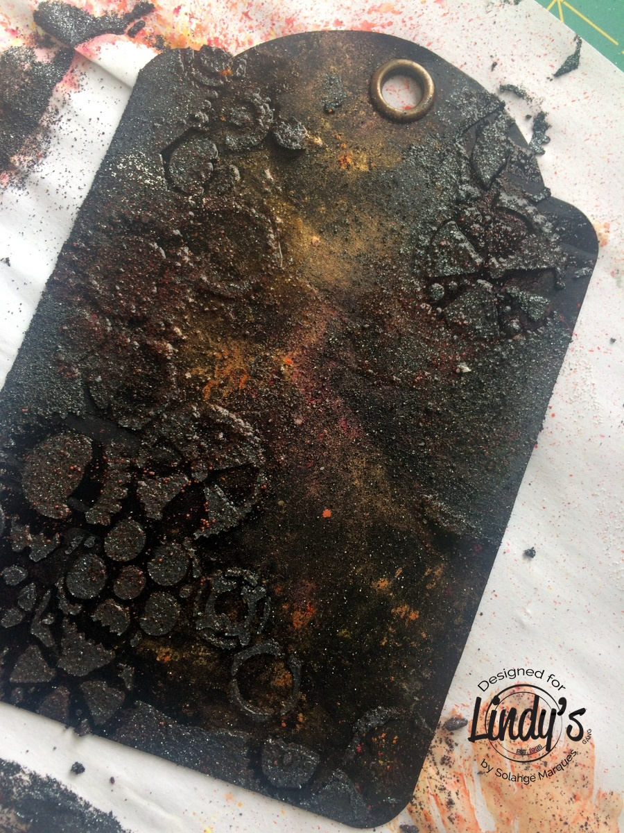 Rust tag by Solange Marques with Lindy's Stamp Gang products-03