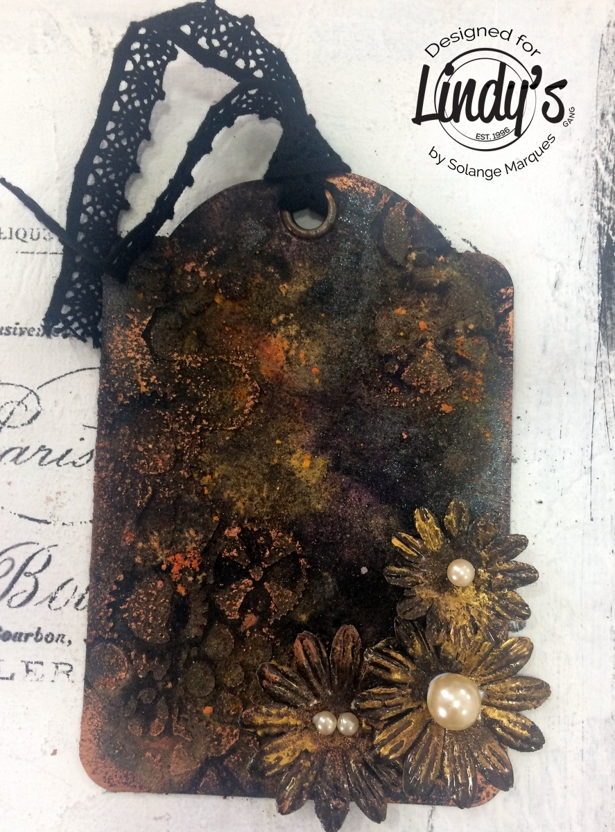 Rust tag by Solange Marques with Lindy's Stamp Gang products-06